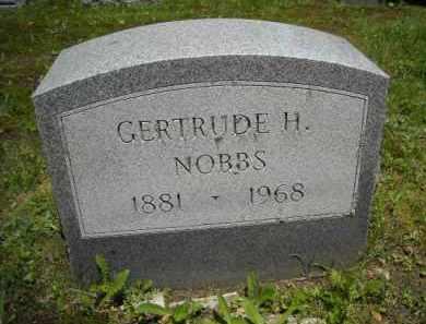 NOBBS, GERTRUDE H. - Suffolk County, New York | GERTRUDE H. NOBBS - New York Gravestone Photos