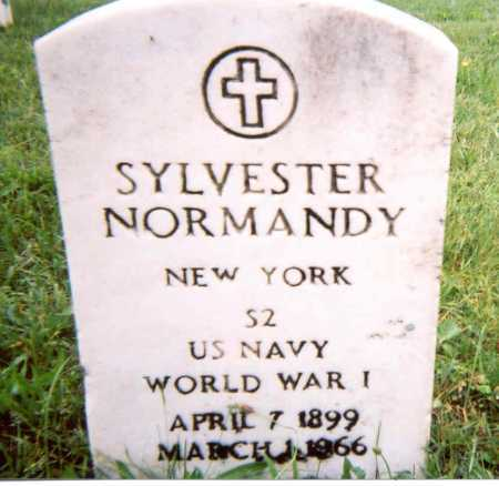 NORMANDY (WWI), SYLVESTER - Suffolk County, New York | SYLVESTER NORMANDY (WWI) - New York Gravestone Photos