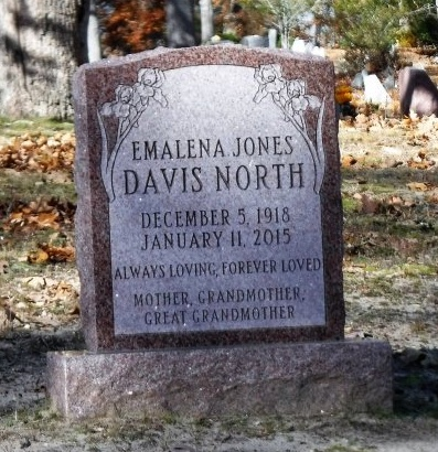 DAVIS, EMALENA - Suffolk County, New York | EMALENA DAVIS - New York Gravestone Photos