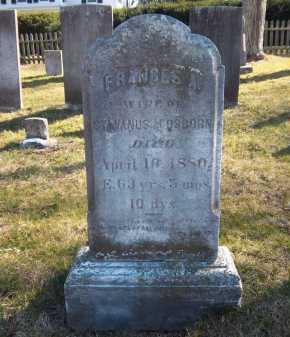 OSBORN, FRANCES A. - Suffolk County, New York   FRANCES A. OSBORN - New York Gravestone Photos