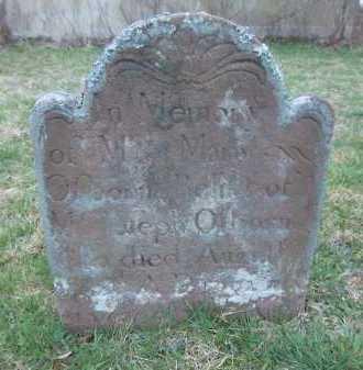 OSBORN, MARY - Suffolk County, New York   MARY OSBORN - New York Gravestone Photos