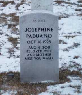 PADUANO, JOSEPHINE - Suffolk County, New York   JOSEPHINE PADUANO - New York Gravestone Photos