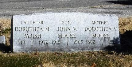 MOORE, JOHN V - Suffolk County, New York | JOHN V MOORE - New York Gravestone Photos