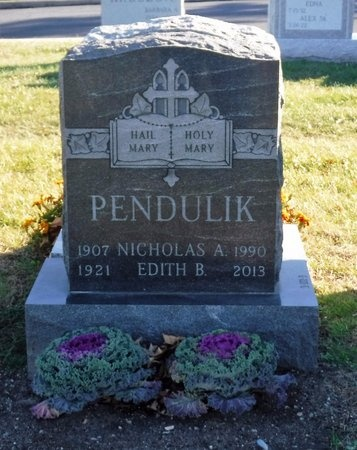PENDULIK, EDITH B - Suffolk County, New York | EDITH B PENDULIK - New York Gravestone Photos