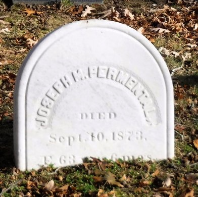 PERMENTAL, JOSEPH M - Suffolk County, New York | JOSEPH M PERMENTAL - New York Gravestone Photos