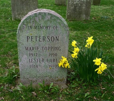 TOPPING PETERSON, MARIE - Suffolk County, New York | MARIE TOPPING PETERSON - New York Gravestone Photos