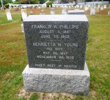 PHILLIPS, HENRIETTA M - Suffolk County, New York | HENRIETTA M PHILLIPS - New York Gravestone Photos
