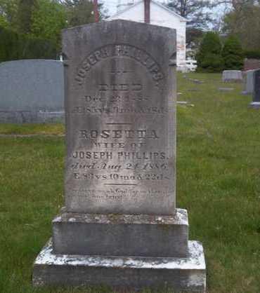 PHILLIPS, ROSETTA - Suffolk County, New York | ROSETTA PHILLIPS - New York Gravestone Photos