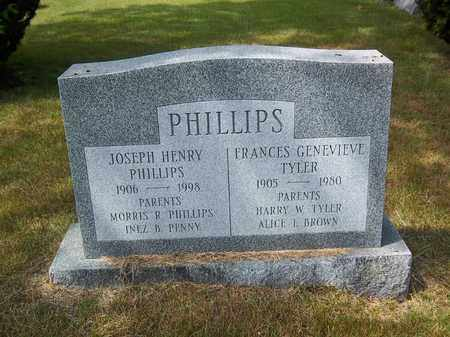 TYLER PHILLIPS, FRANCES GENEVIEVE - Suffolk County, New York   FRANCES GENEVIEVE TYLER PHILLIPS - New York Gravestone Photos