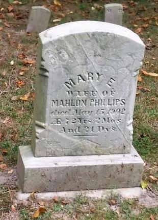 PHILLIPS, MARY E - Suffolk County, New York   MARY E PHILLIPS - New York Gravestone Photos