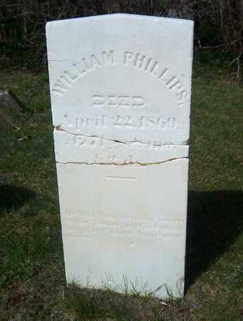 PHILLIPS, WILLIAM - Suffolk County, New York   WILLIAM PHILLIPS - New York Gravestone Photos
