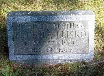 PLISKO, LUDMILA - Suffolk County, New York   LUDMILA PLISKO - New York Gravestone Photos