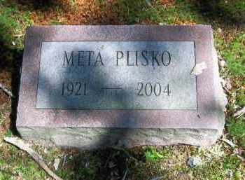 PLISKO, META - Suffolk County, New York   META PLISKO - New York Gravestone Photos