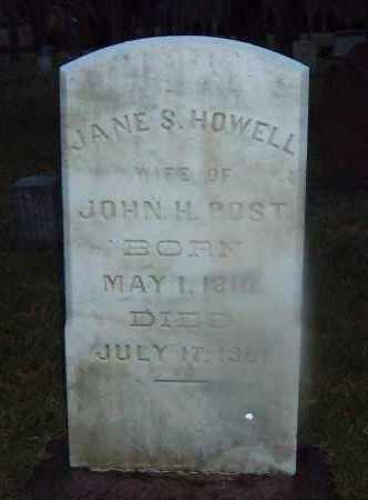HOWELL POST, JANE S. - Suffolk County, New York | JANE S. HOWELL POST - New York Gravestone Photos