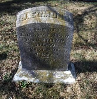 POUNDING, J. EDMUND - Suffolk County, New York | J. EDMUND POUNDING - New York Gravestone Photos