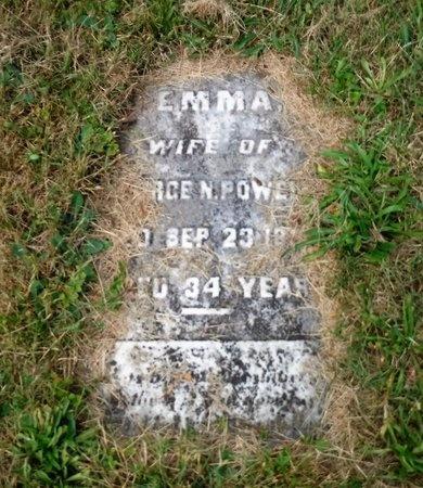 POWELL, EMMA - Suffolk County, New York   EMMA POWELL - New York Gravestone Photos