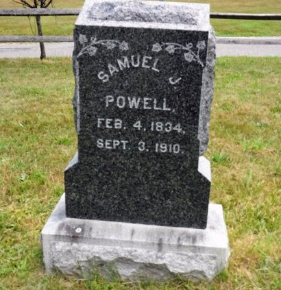 POWELL, SAMUEL J - Suffolk County, New York | SAMUEL J POWELL - New York Gravestone Photos