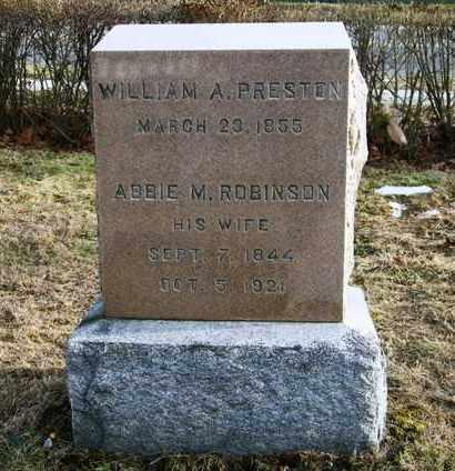 ROBINSON, ABBIE M - Suffolk County, New York | ABBIE M ROBINSON - New York Gravestone Photos