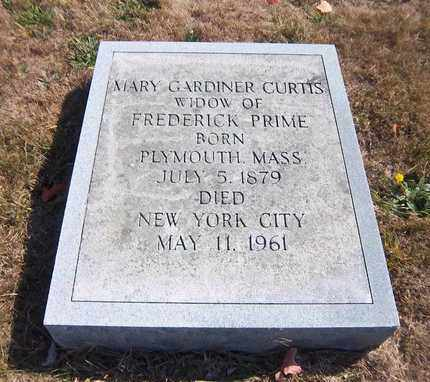 PRIME, MARY GARDINER - Suffolk County, New York | MARY GARDINER PRIME - New York Gravestone Photos