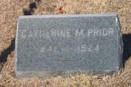 PRIOR, CATHERINE M - Suffolk County, New York | CATHERINE M PRIOR - New York Gravestone Photos