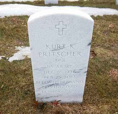 PRITSCHER (SERV), KURT K - Suffolk County, New York | KURT K PRITSCHER (SERV) - New York Gravestone Photos