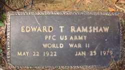 RAMSHAW, EDWARD T. - Suffolk County, New York | EDWARD T. RAMSHAW - New York Gravestone Photos