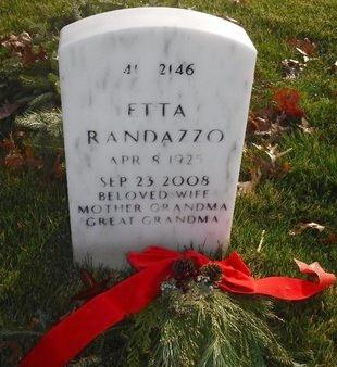 RANDAZZO, ETTA - Suffolk County, New York | ETTA RANDAZZO - New York Gravestone Photos