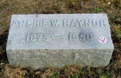 RAYNOR, ARCHIE W - Suffolk County, New York | ARCHIE W RAYNOR - New York Gravestone Photos