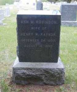 ROBINSON RAYNOR, ANN M. - Suffolk County, New York | ANN M. ROBINSON RAYNOR - New York Gravestone Photos