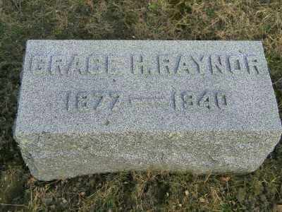 RAYNOR, GRACE H. - Suffolk County, New York | GRACE H. RAYNOR - New York Gravestone Photos