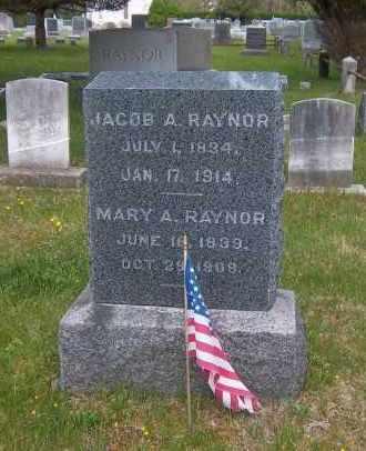 RAYNOR, MARY A. - Suffolk County, New York | MARY A. RAYNOR - New York Gravestone Photos