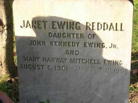 EWING REDDALL, JANET - Suffolk County, New York | JANET EWING REDDALL - New York Gravestone Photos