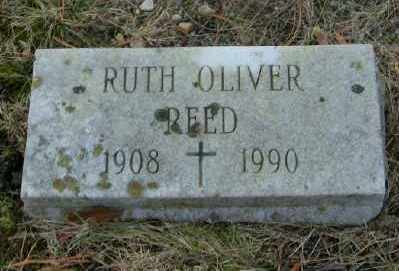 OLIVER REED, RUTH - Suffolk County, New York   RUTH OLIVER REED - New York Gravestone Photos