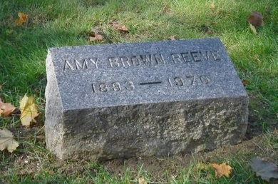 BROWN REEVE, AMY - Suffolk County, New York | AMY BROWN REEVE - New York Gravestone Photos