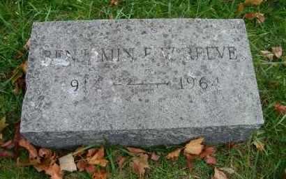 REEVE, BENJAMIN E. W. - Suffolk County, New York   BENJAMIN E. W. REEVE - New York Gravestone Photos