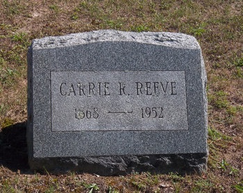 REEVE, CARRIE R - Suffolk County, New York | CARRIE R REEVE - New York Gravestone Photos