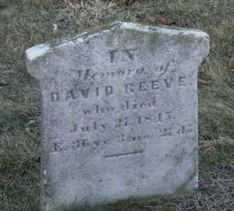 REEVE, DAVID - Suffolk County, New York | DAVID REEVE - New York Gravestone Photos