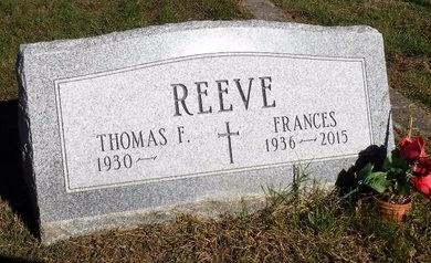 REEVE, FRANCES - Suffolk County, New York | FRANCES REEVE - New York Gravestone Photos