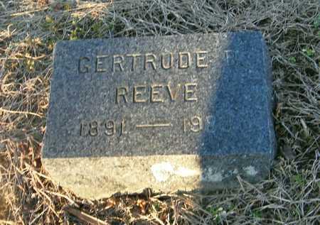 REEVE, GERTRUDE B - Suffolk County, New York | GERTRUDE B REEVE - New York Gravestone Photos
