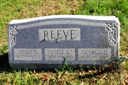 REEVE, EUNICE L - Suffolk County, New York | EUNICE L REEVE - New York Gravestone Photos