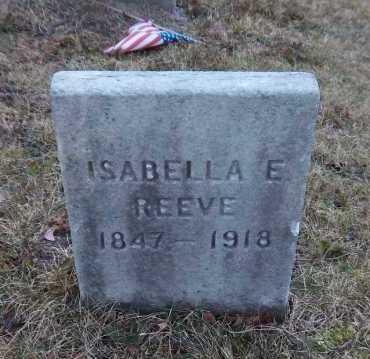 REEVE, ISABELLA - Suffolk County, New York | ISABELLA REEVE - New York Gravestone Photos