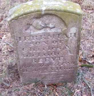REEVE, JEREMIAH - Suffolk County, New York | JEREMIAH REEVE - New York Gravestone Photos