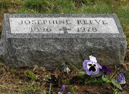 REEVE, JOSEPHINE - Suffolk County, New York | JOSEPHINE REEVE - New York Gravestone Photos