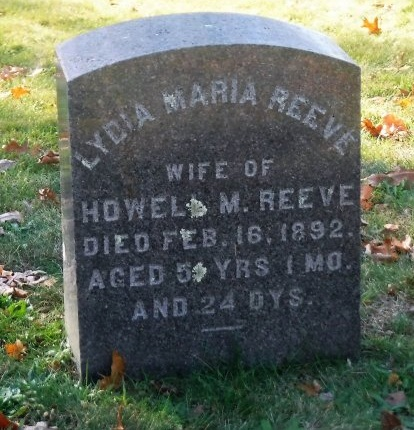 REEVE, LYDIA MARIA - Suffolk County, New York | LYDIA MARIA REEVE - New York Gravestone Photos