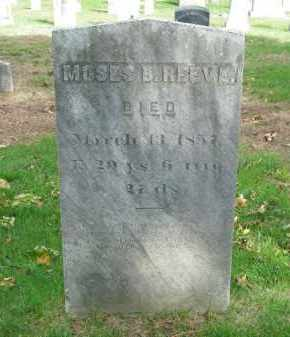 REEVE, MOSES B. - Suffolk County, New York | MOSES B. REEVE - New York Gravestone Photos
