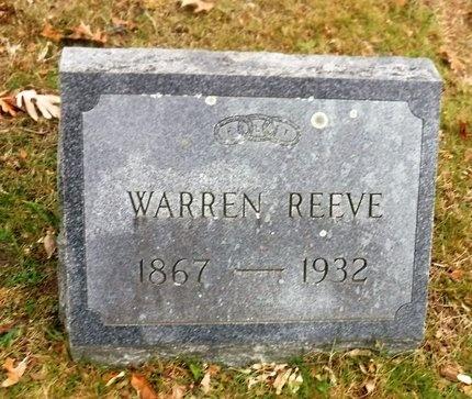 REEVE, WARREN - Suffolk County, New York   WARREN REEVE - New York Gravestone Photos