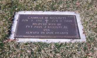 RICCIUTI, CAMILLE M. - Suffolk County, New York   CAMILLE M. RICCIUTI - New York Gravestone Photos