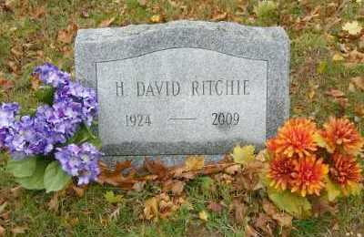 RITCHIE, H. DAVID - Suffolk County, New York | H. DAVID RITCHIE - New York Gravestone Photos