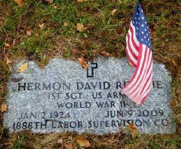RITCHIE (WWII), HERMON DAVID - Suffolk County, New York | HERMON DAVID RITCHIE (WWII) - New York Gravestone Photos
