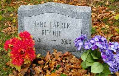 RITCHIE, JANE - Suffolk County, New York | JANE RITCHIE - New York Gravestone Photos